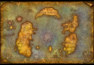Eastern Kingdoms + Kalimdor + Northrend
